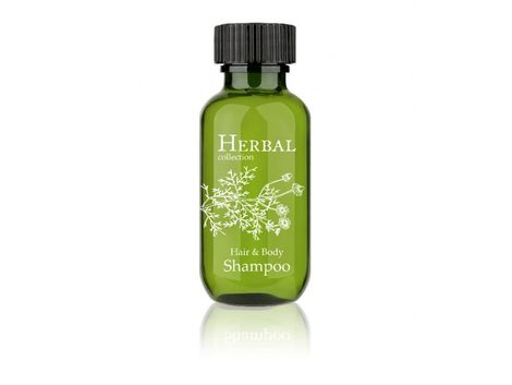 Herbal Collection telový a vlasový šampón vo fľaštičke 37ml (50ks)